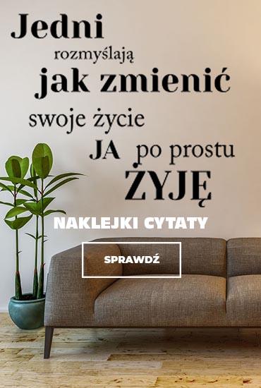 naklejki na ścianę z cytatami