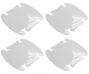 Bezbarwna folia ochronna pod klamki samochodowe - zestaw 4 sztuk - FO-16
