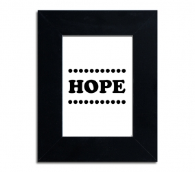 Hope - plakat w ramie - PLA-4