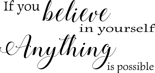 If you believe in yourself anything is possible ? WZ-181