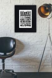 Open your mind  - plakat w ramie - PLA-24