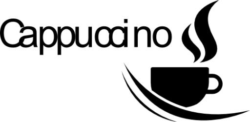 Naklejka ścienna - Cappuccino KUCH-NA-11