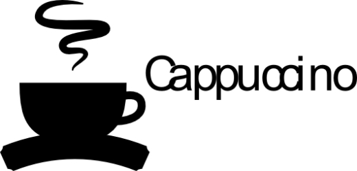 Naklejka ścienna - Cappuccino KUCH-NA-12