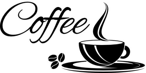 Naklejka ścienna - coffee KUCH-NA-18