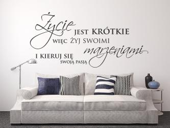 Życie jest krótkie więc żyj swoimi marzeniami i kieruj się swoją pasją - WZ-112